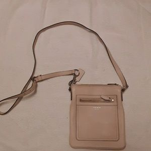 Coach Light Blush Pink  Cross Your Body  Purse